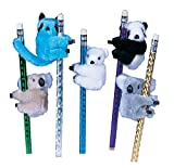 Raymond Geddes Clip-On Critter Plush Animal Clip (Pack of 24)