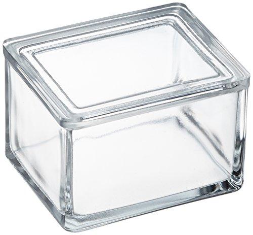 neoLab E-1701 ecoLab-Färbekästen aus Glas mit Deckel