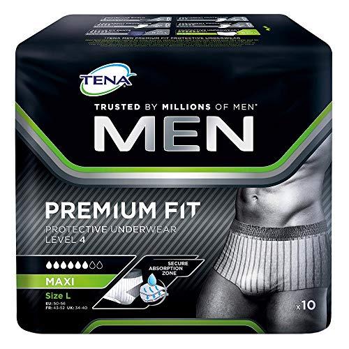 TENA MEN Level 4 Premium Fit Prot.Underwear L 10 St