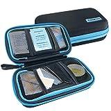 PILLBASE Travel Reiseapotheke | Tabletten Aufbewahrung Reise | Pillen-Organizer | tragbar & mobil | Erste-Hilfe Tasche | Medizin Vitamine Pillen | Notfall Kit | Outdoor Sport