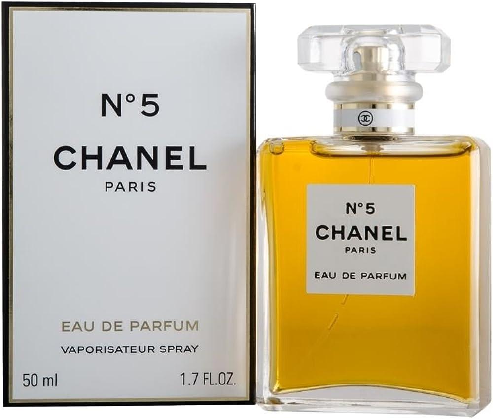 Chanel, n. 5, eau de parfum con vaporizzatore, 50 ml CH25