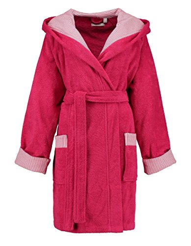 ESPRIT Bademantel Damen Kapuze Day Raspberry S