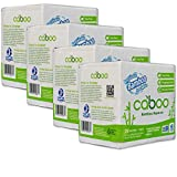 Caboo Tree Free Bamboo Paper Napkins, 4 Packs of 250, 1000 Total Napkins, Eco Friendly, Sustainable, and Disposable Kitchen Napkins