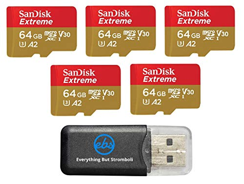 sandisk 64gb micro sd card 5 pack