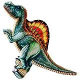 ETJar Tyrannosaurus Rex dinosaurio de peluche de juguete linda almohada para dormir niña regalo de cumpleaños niño habitación animal decoración, verde, 120 cm,Verde,40cm