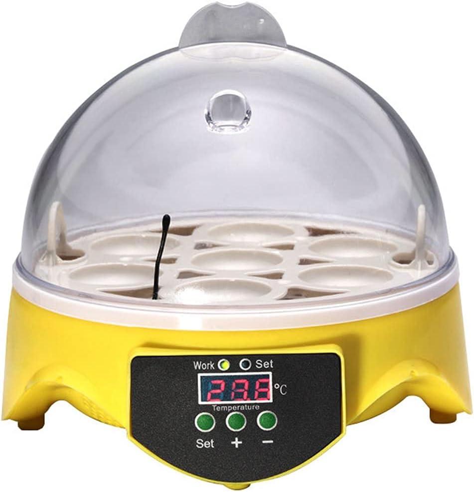 YAWEDA Mini 7 Eggs Incubators Electronic Tempe Digital Free shipping New Shipping included Incubator