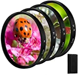 Provide a simple and convenient method for shortening your minimum focusing distance and minimum working distance. With 55mm filter thread, and enables you to photograph close-up subjects more effectively. +1, +2, +4, and macro filters are included i...