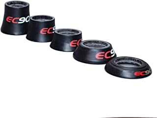 EC90 Carbon Bicycle Headset Spacers Carbon Fiber Road/MTB Bike Parts Bicycle Fork Bowl in September Conical Taper Washer 1 1/8