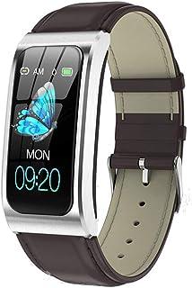 Fitness Tracker HR, reloj de monitor de frecuencia cardíaca con pantalla a color, reloj inteligente de seguimiento de actividad, IP67 a prueba de agua, reloj podómetro para mujeres, hombres y niños,A