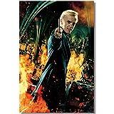 Draco Malfoy Poster Kunst Gemälde Für Schlafzimmer