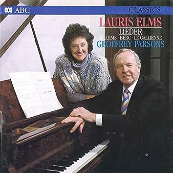Lauris Elms - Lieder
