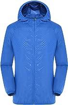 Windbreaker Men's Men Casual Jackets Windproof Ultra-Light Outerwear Rainproof Windbreaker Top