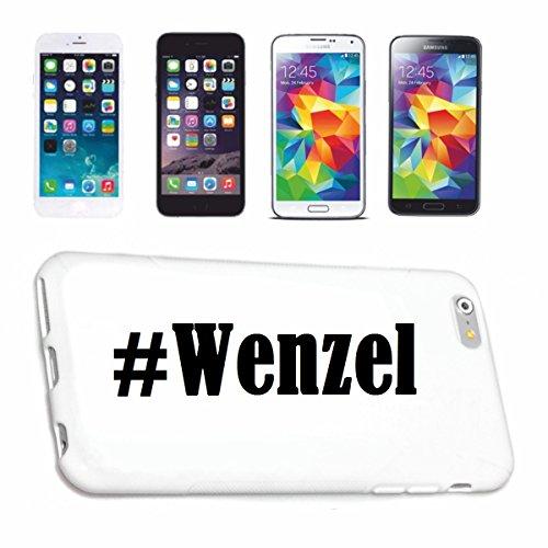 Reifen-Markt Handyhülle kompatibel für iPhone 5C Hashtag #Wenzel im Social Network Design Hardcase Schutzhülle Handy Cover Smart Cover