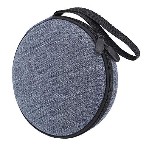 Tragbarer robuste CD-Player-Tasche mit festem Tragegurt für die Aufbewahrung von Reisen Kompatibel mit dem HOTT CD-Player 511/611/711 / 611T dem Kopfhörer dem USB- und AUX-Kabel