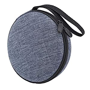 Portable Durable CD Player Bag Hard Carrying Travel Storage Case Compatible for HOTT CD Player 511/611/711/611T Personal Compact Disc Player, Headphone, USB and AUX Cable