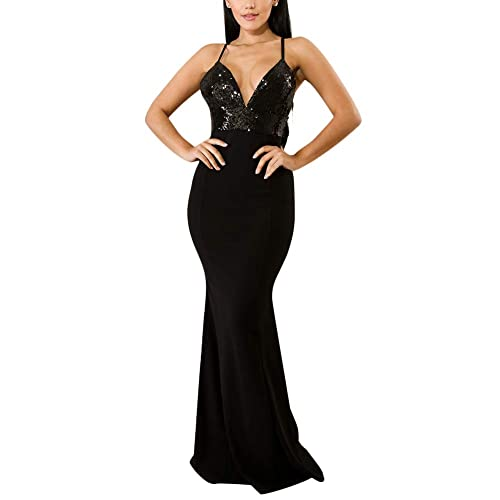 aefd8783e43 Women's Mermaid Semi Formal Dresses - Head Turner Elegant Sparkly Long  Evening Ball Gowns