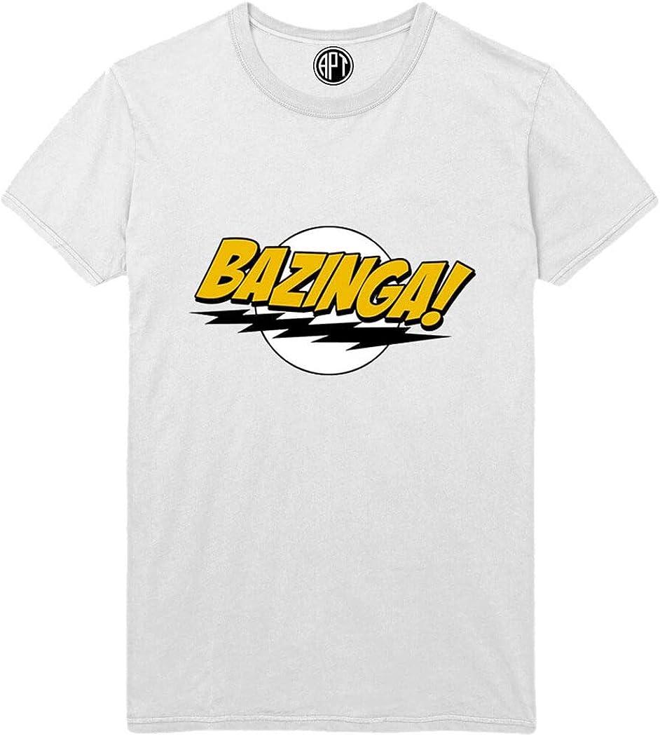 Bazinga Lightning Printed T-Shirt