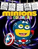 minions da colorare: Libro da colorare 50 Minion speciale per bambini e tutti i fan
