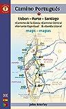 POR-CAMINO PORTUGUES MAPS 8/E: Lisbon - Porto - Santiago / Camino Central, Camino De La Costa, Variente Espiritual & Senda Litoral (Camino Guides) - John Brierley