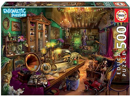 Tienda de Antigüedades Puzzle, 500 Piezas, Multicolor (18480)