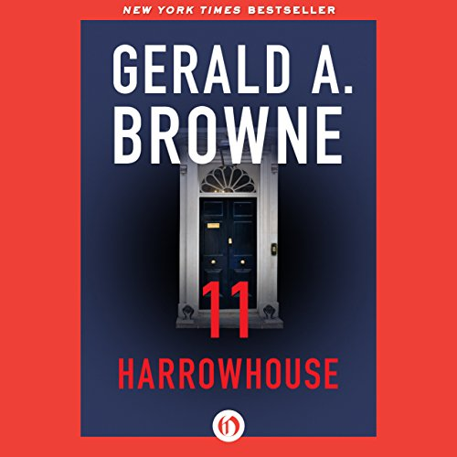 11 Harrowhouse audiobook cover art