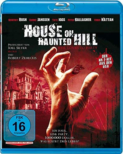 Haunted Hill / House on Haunted Hill (1999) ( ) (Blu-Ray)