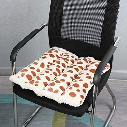 DAGCOT Silla de oficina cojín del asiento espesa el amortig