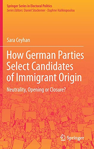 How German Parties Select Candidates of Immigrant Origin: Neutrality, Opening or Closure?