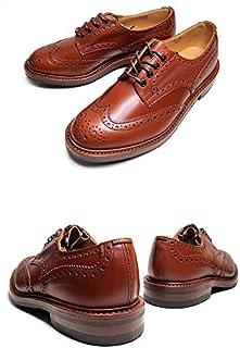 [トリッカーズ] カントリーシューズ M5633 39 COUNTRY BOURTON MARRON ANTIQUE バートン フルブローグ 紳士靴 マロン アンティーク カーフレザー ダイナイトソール [並行輸入品]