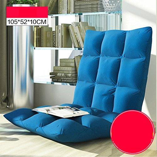 Sofa Souple et Pliable Paresseux (Couleur : Bande, Taille : 105 * 52 * 10cm)