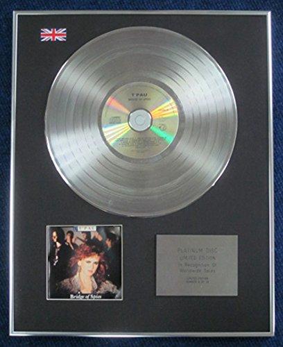 T 'pau–Edición limitada CD disco de platino–LP puente de espías