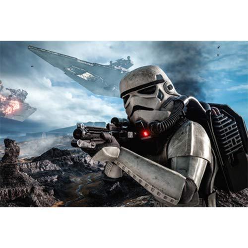 Puzzle De Madera 1000 Piezas De Cine Y Televisión De Ciencia Ficción Star Wars 500 Descompresión para Adultos 300 Juguetes Educativos para Niños Regalos Creativos para Otros(Color:C,Size:1000pc)