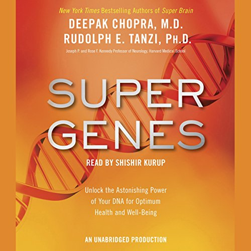 Super Genes audiobook cover art