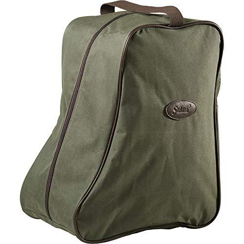 Seeland-Bolsa para botas, diseño línea verde/marrón
