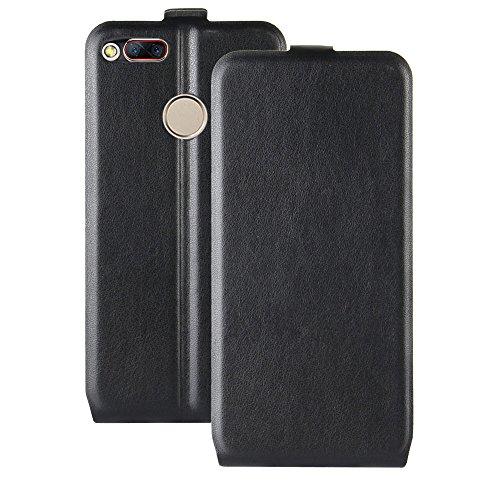 Litao-Case CN Hülle für ZTE Nubia Z17 Mini S hülle Flip Leder + TPU Silikon Fixierh Schutzhülle Case 4