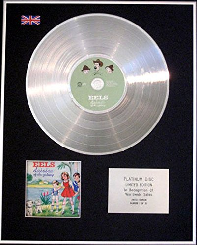 Century Music Awards EELS CD Platinum Disc Daisies of The Galaxy