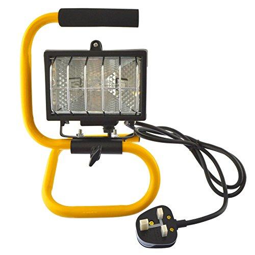 AB Tools Lampe halogène 120 w 120 w projecteur de lumière Portable lumière Site Garage GAR73