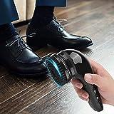 USB Recargable Eléctrico Zapato Brillar Pulidora Portátil Mano Automático Limpieza De Calzado Cepillo para Cuero Pantalones, Asiento De Coche