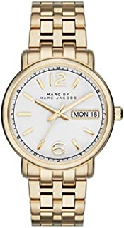 Marc Jacobs Womens Quartz Watch, Analog Display and Stainless Steel Strap MBM8647