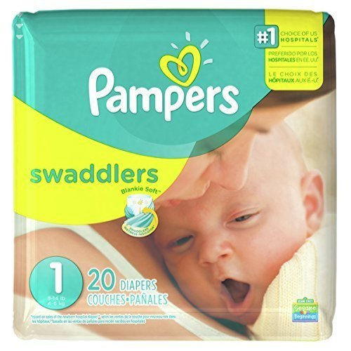 Pampers Swaddlers Size 1 20 Count
