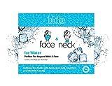 ToGoSpa FACE & NECK | Preimum Clean Collagen Gel Mask with Hyaluronic Acid, Aloe Vera, Vitamins C & E (Ice Water)