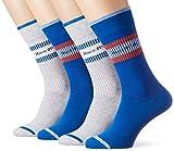 Marc O'Polo Body und Beach Herren Legwear M 4-PACK Socken, Mehrfarbig (Sortiert 1 901), 39/42 (Herstellergröße: 403) (4er Pack)