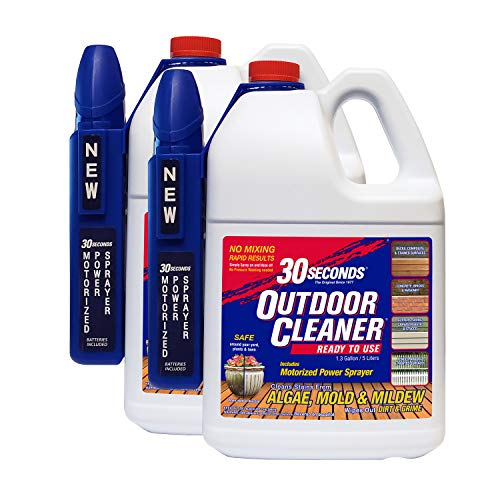 30 SECONDS Cleaners 1.3G30SMPS2PA 1.3 Gallon 2 Pack Outdoor Cleaner, 2-Pack, White