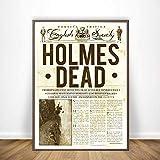 yhyxll Sherlock Holmes Jagt Die Yeti Holmes Zeitung Mehrere