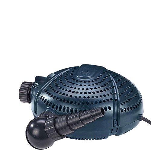 FIAP AQUA ACTIVE 6.000 - Teichpumpe - Filterpumpe - Bachlaufpumpe - Skimmeranschluss - trockenaufstellbar - Gartenteich - Koi - Teich