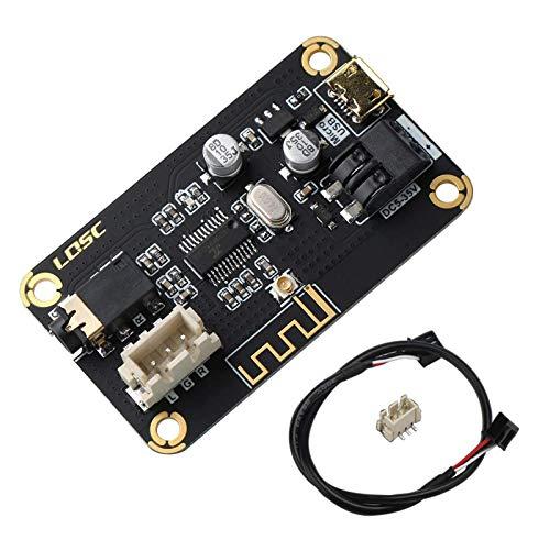 RUIZHI Modulo Ricevitore Bluetooth,Scheda di Ricevitore Audio Stereo Bluetooth Portatile Modulo DC 5-35V Elettronica Modulo Chip per Cuffie Fai-da-Te Home Stereo