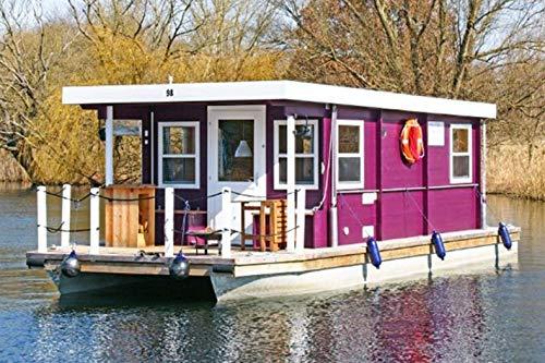 Jochen Schweizer Geschenkgutschein: Hausboot-Kurzurlaub für 4