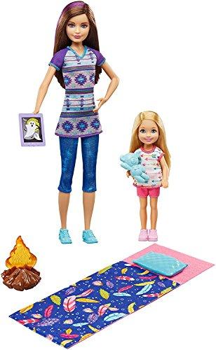 Barbie Camping Fun Skipper and Chelsea