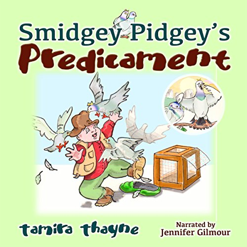 Smidgey Pidgey's Predicament audiobook cover art