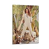QWKM Modell-Poster Gisele Bundchen Harper's Bazaar